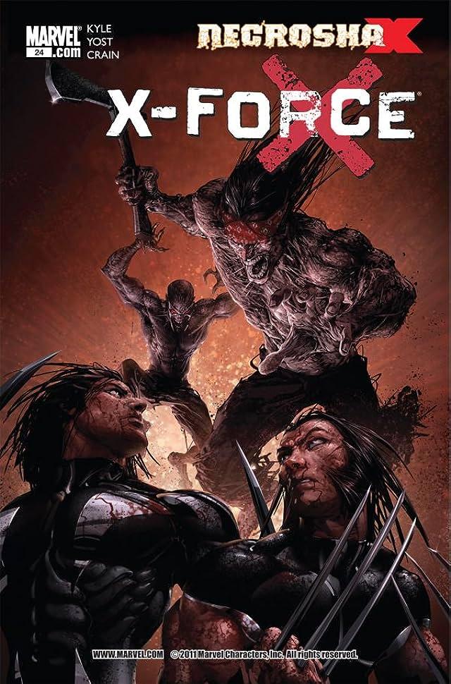 X-Force (2008-2012) #24
