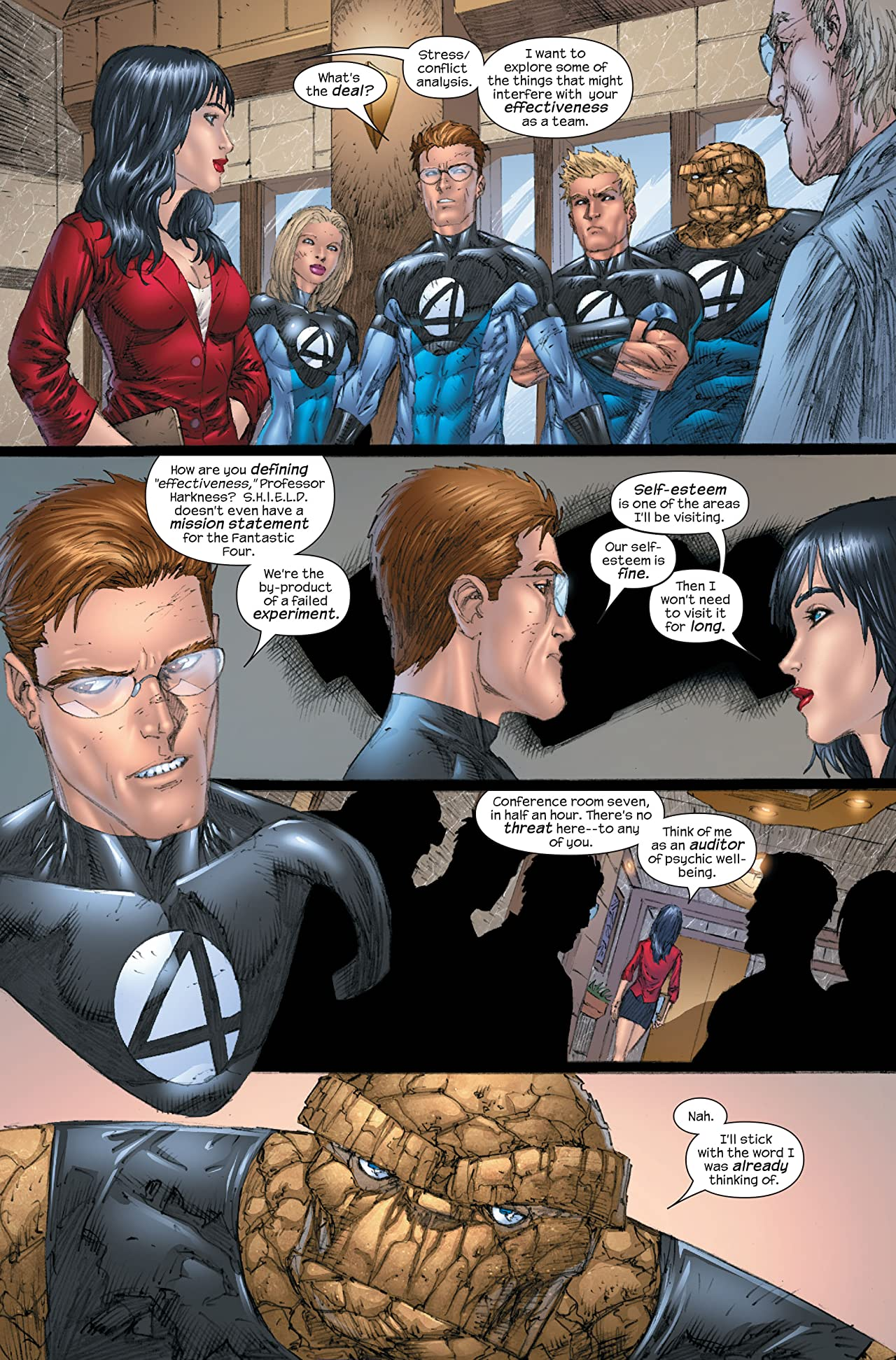 Ultimate Fantastic Four #55