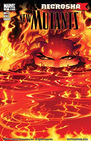 New Mutants (2009-2011) No.8