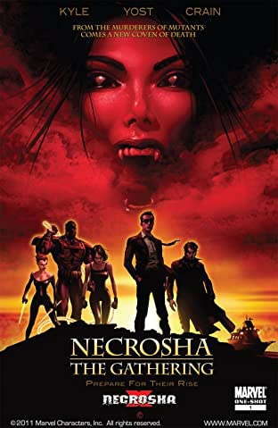 X-Necrosha No.1: The Gathering
