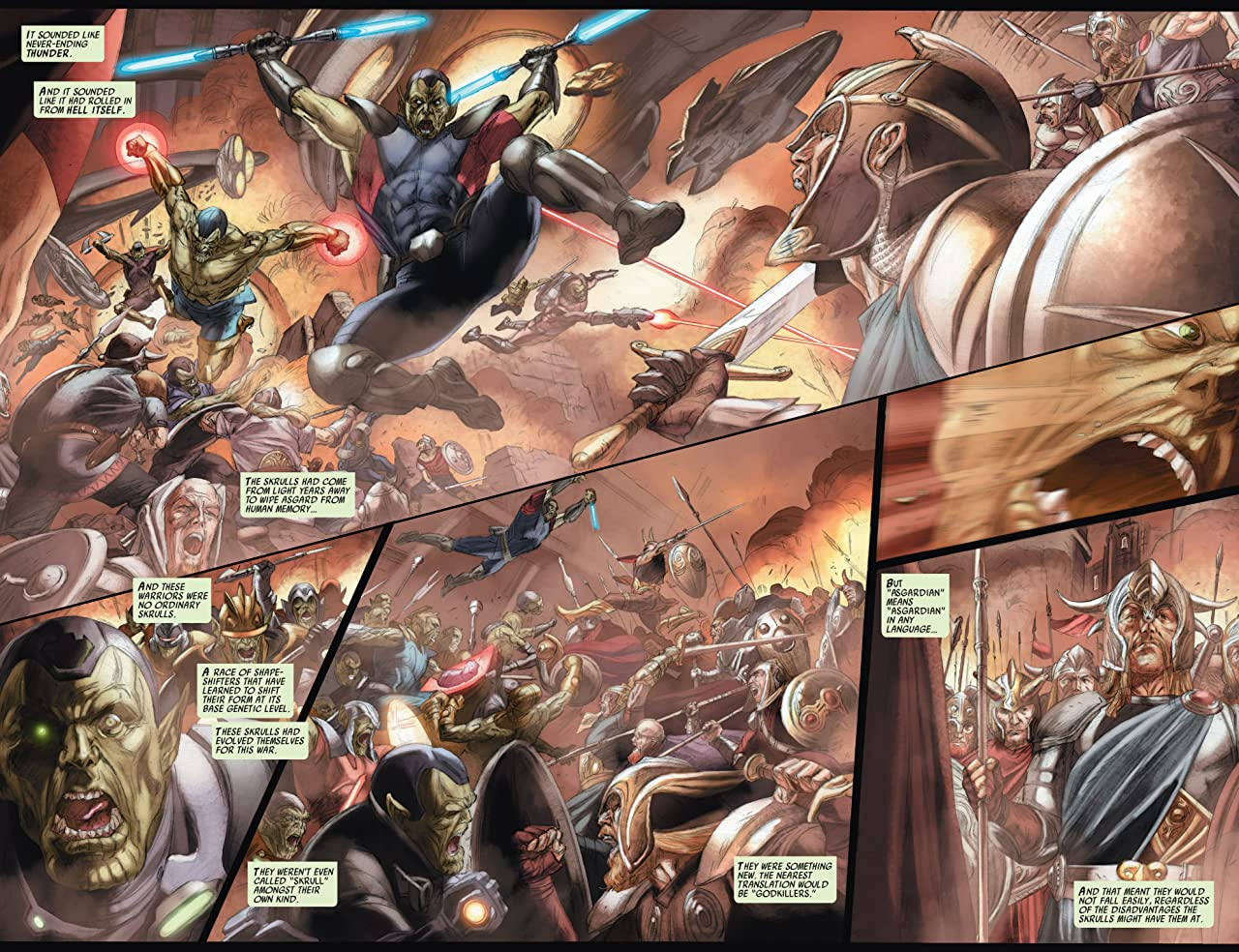 Secret Invasion: Thor #2 (of 3)