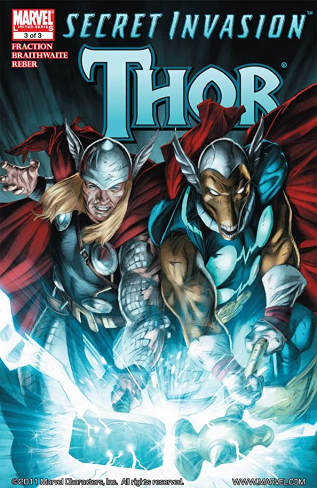 Secret Invasion: Thor #3