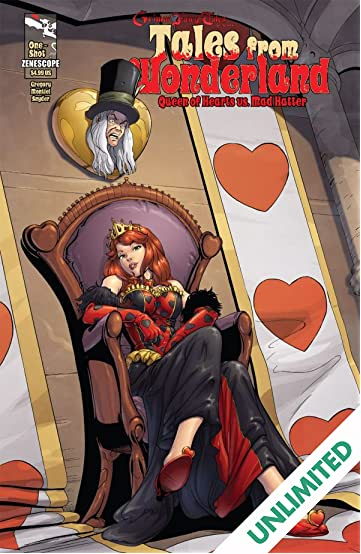 Tales From Wonderland: Mad Hatter vs. Queen of Hearts