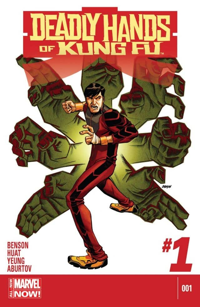 Deadly Hands of Kung Fu (2014-) #1