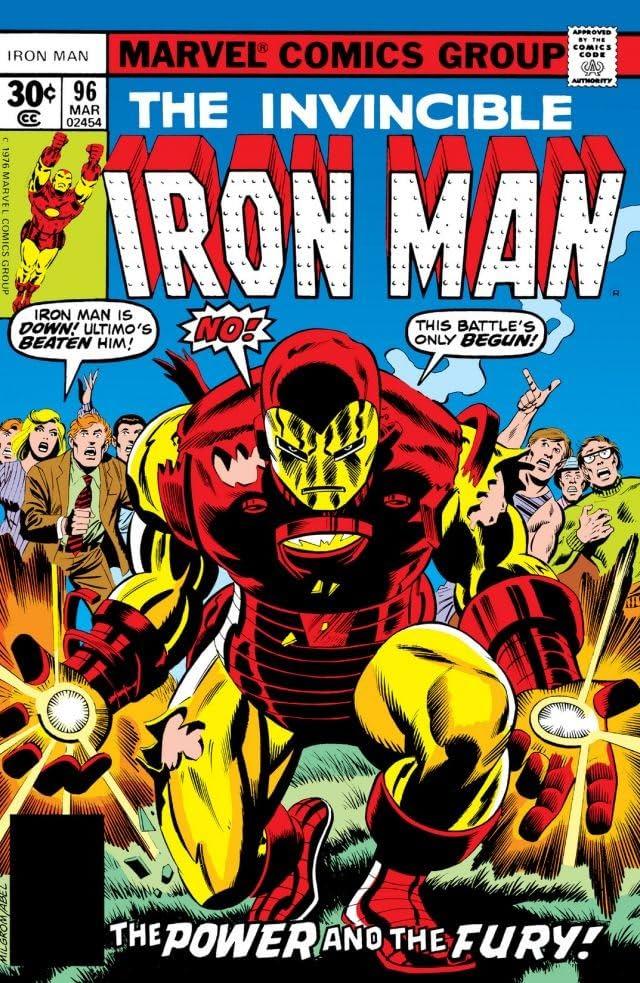 Iron Man (1968-1996) #96