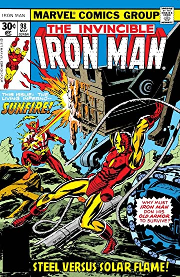 Iron Man (1968-1996) #98