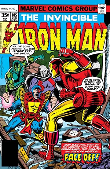 Iron Man (1968-1996) #105