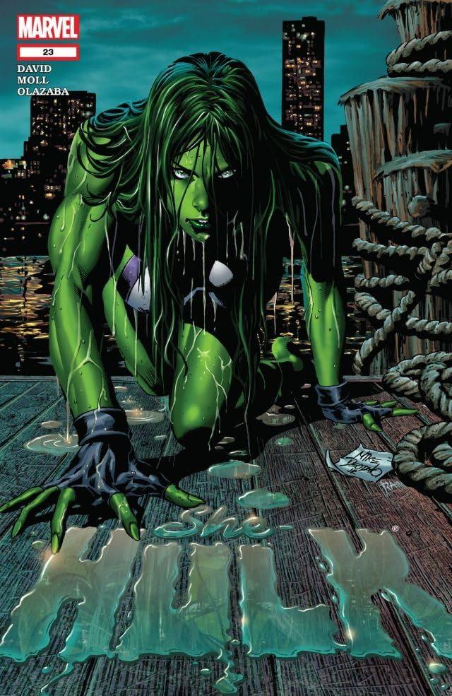 She-Hulk (2005-2009) #23