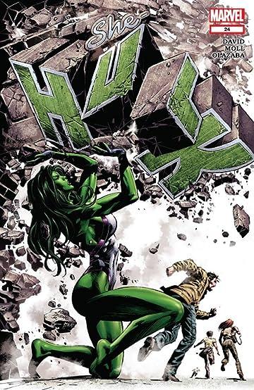 She-Hulk (2005-2009) #24