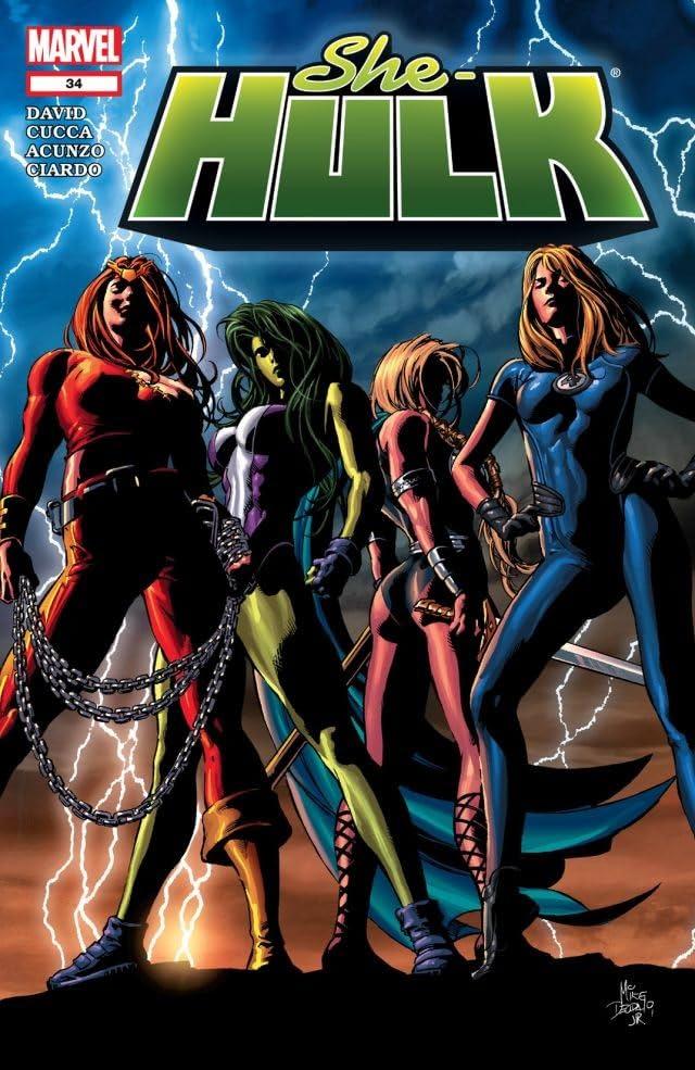 She-Hulk (2005-2009) #34