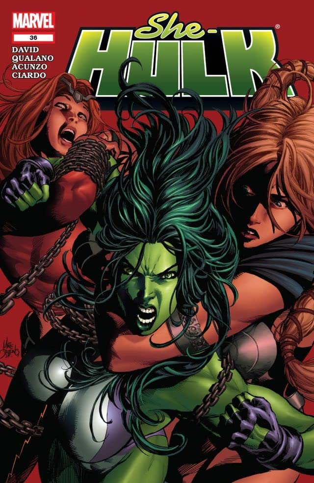 She-Hulk (2005-2009) #36