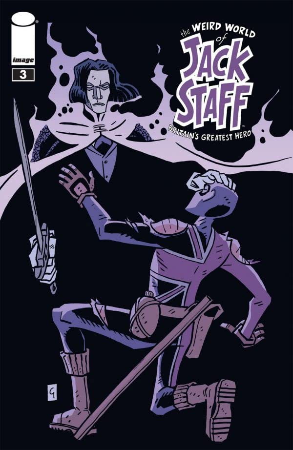 The Weird World of Jack Staff #3