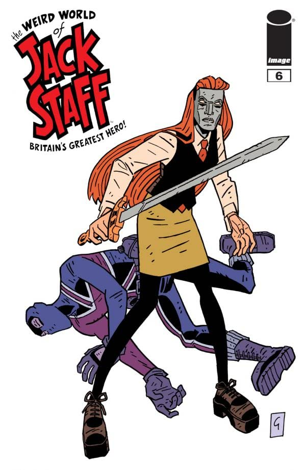 The Weird World of Jack Staff #6