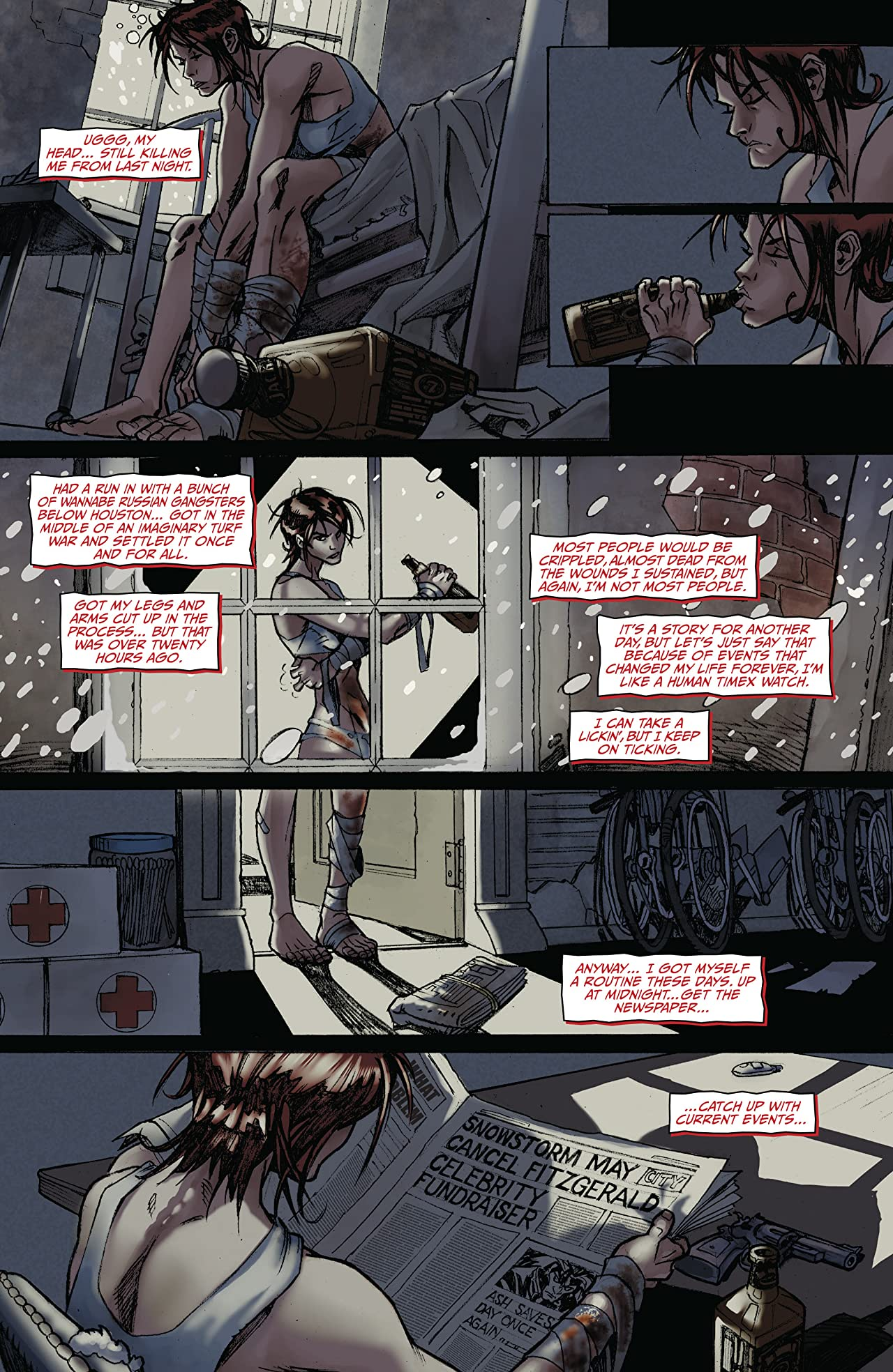Painkiller Jane (2006) #1