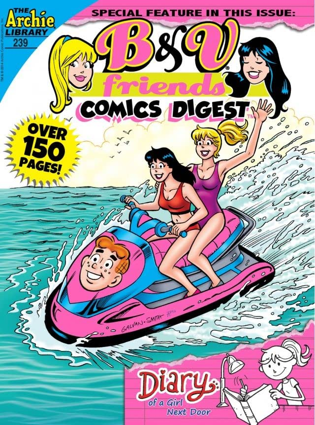 B & V Friends Comics Digest #239