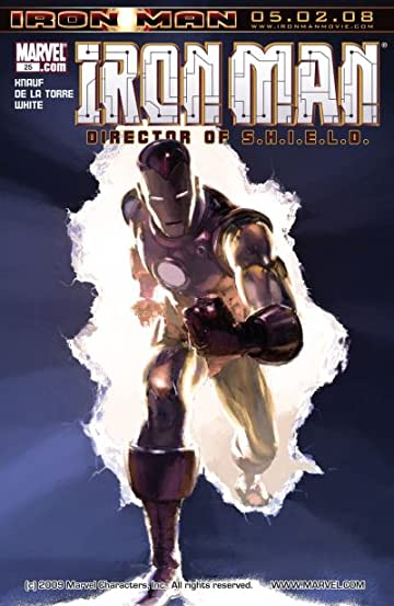 Iron Man: Director of S.H.I.E.L.D. #25