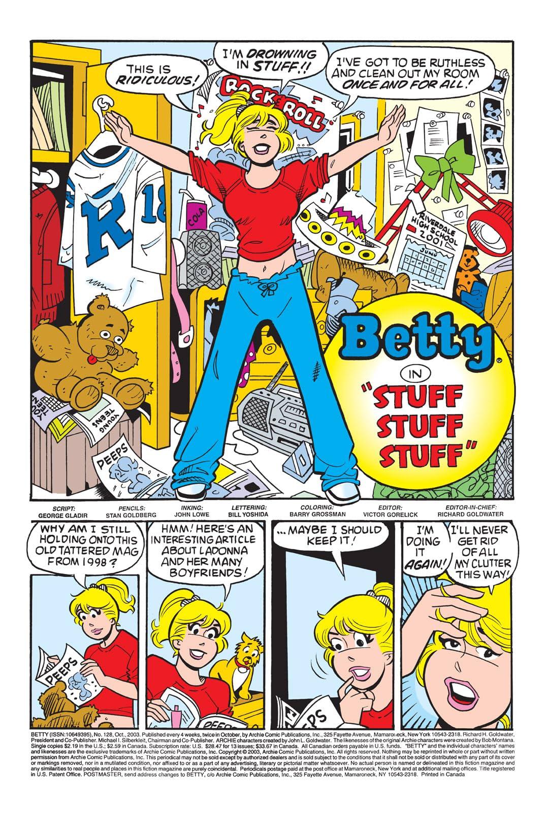 Betty #128