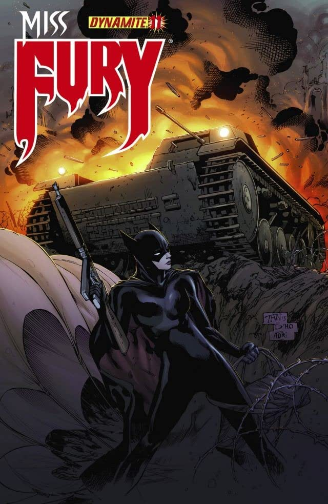 Miss Fury #11: Digital Exclusive Edition