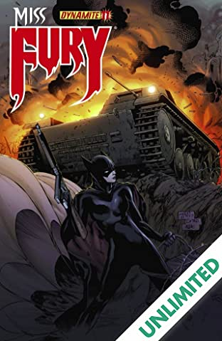Miss Fury (2013) #11: Digital Exclusive Edition