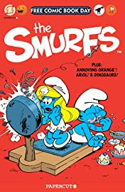 The Smurfs: FCBD Silver Book 2014