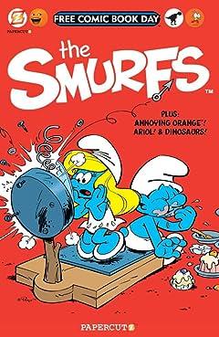 The Smurfs: FCBD Silver Book 2014