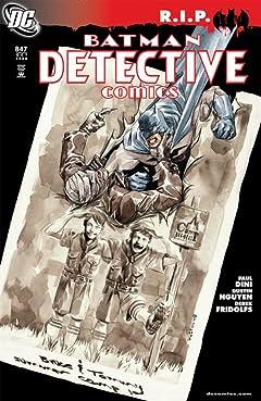 Detective Comics (1937-2011) #847