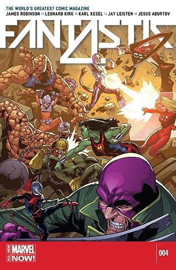 Fantastic Four (2014-2015) #4