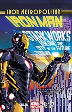 Iron Man Vol. 4: Iron Metropolitan