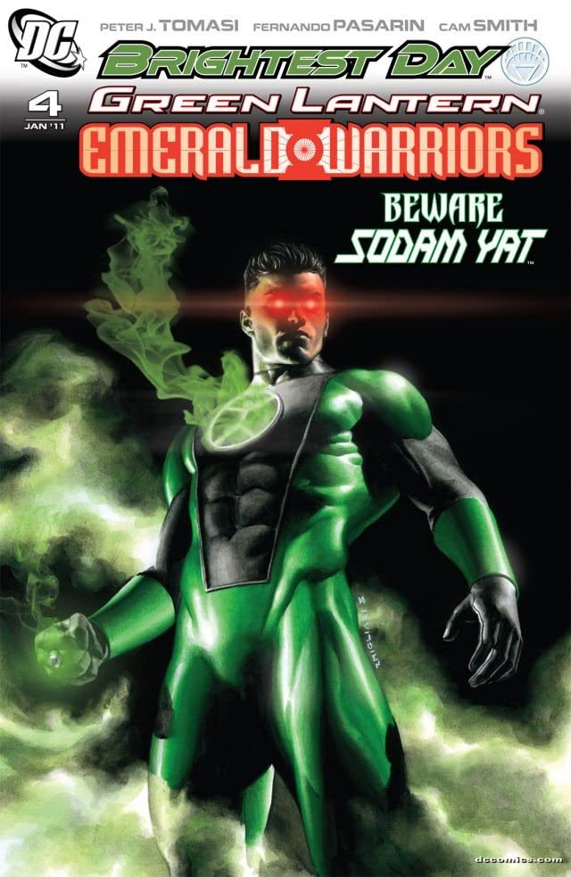 Green Lantern: Emerald Warriors #4