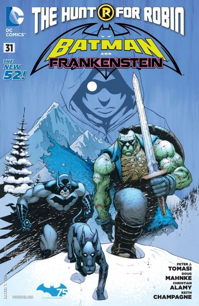 Batman and Robin (2011-2015) #31: Frankenstein