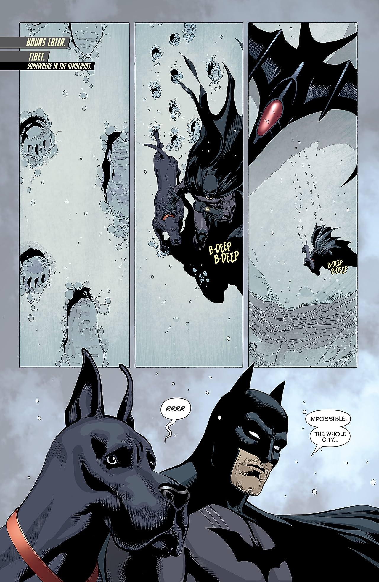 Batman and Robin (2011-2015) #31: Frankenstein