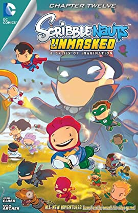 Scribblenauts Unmasked: A Crisis of imagination #12