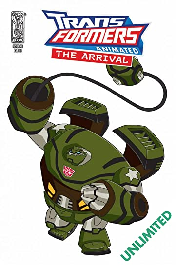 Transformers Animated - The Arrival #2