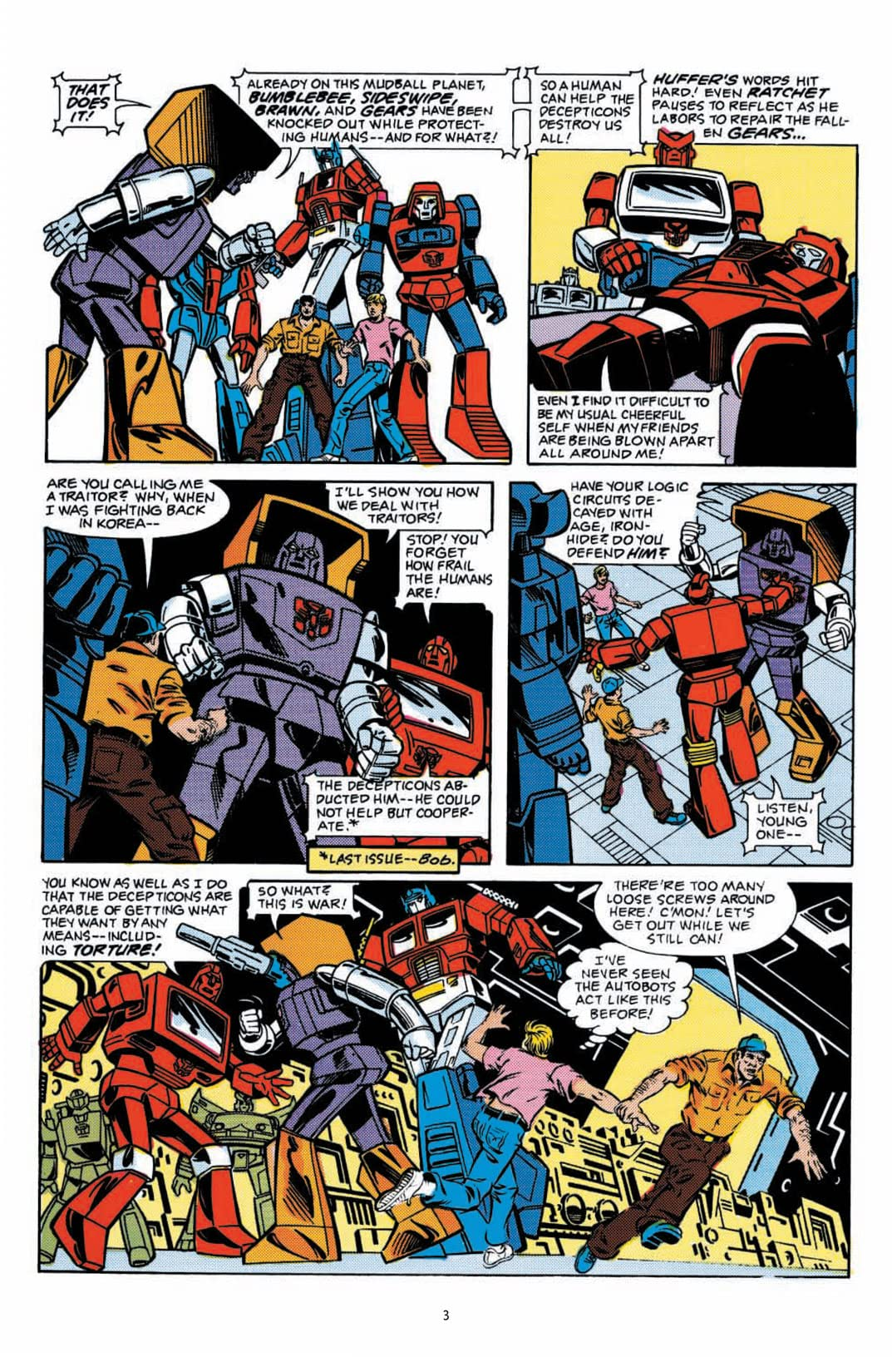 Transformers: Classics #4
