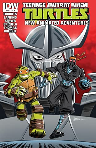 Teenage Mutant Ninja Turtles: New Animated Adventures #11
