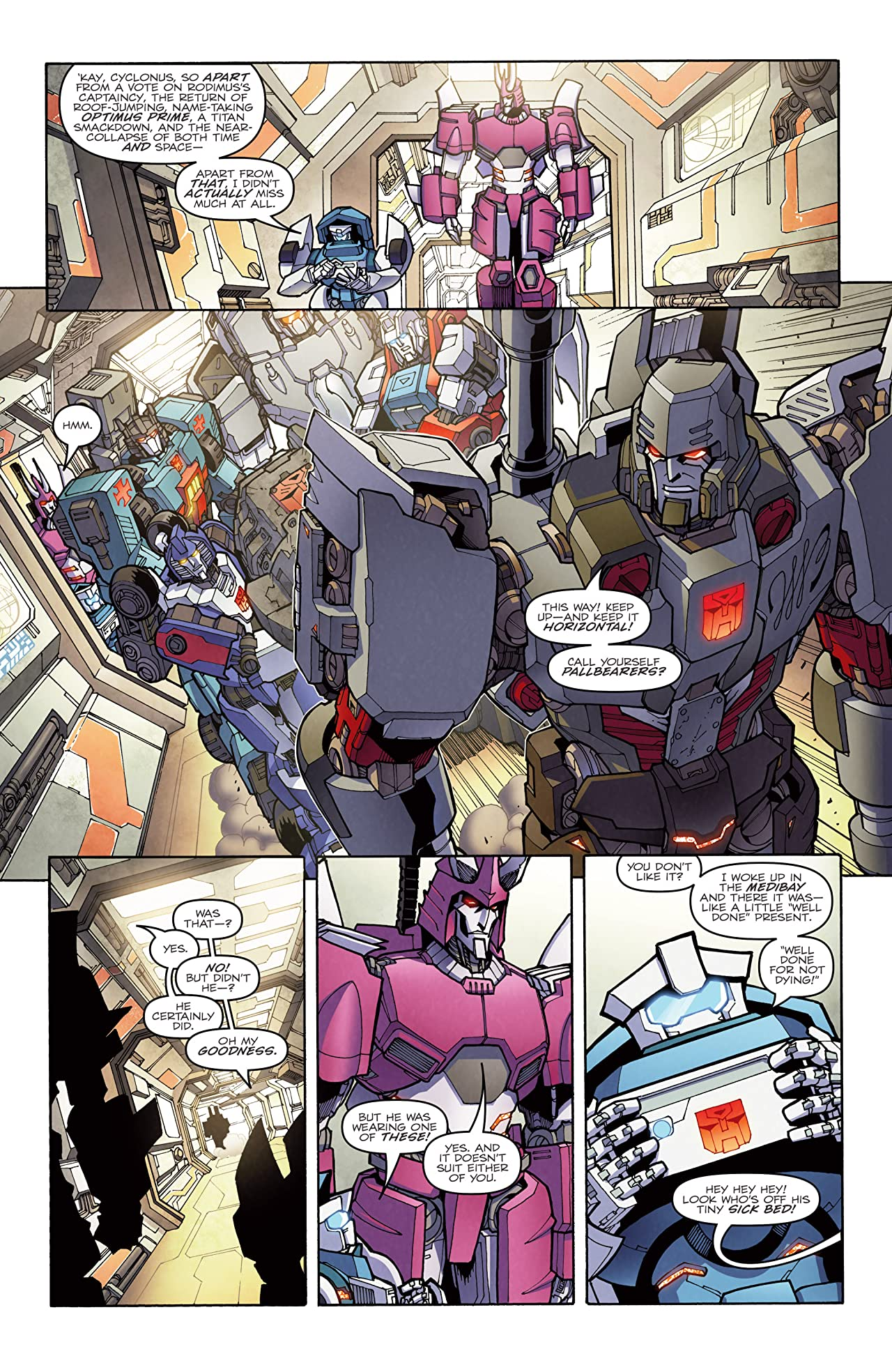 Transformers: More Than Meets the Eye (2011-2016) #29: Dawn of the Autobots
