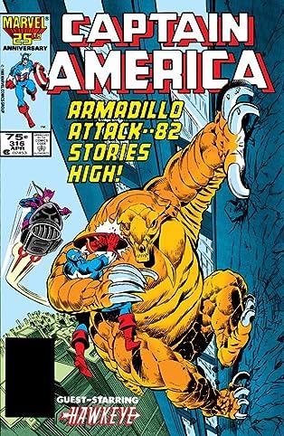 Captain America (1968-1996) #316