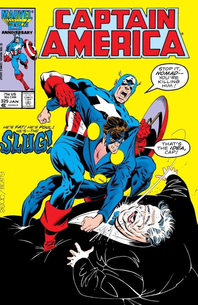 Captain America (1968-1996) #325