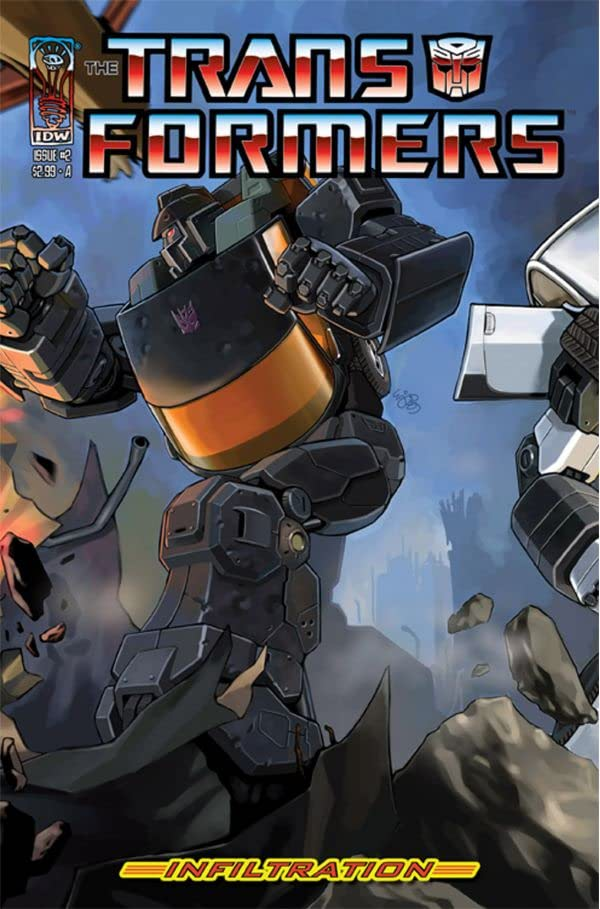 Transformers: Infiltration #2 (of 6)