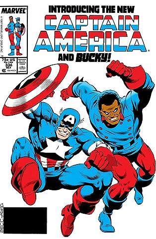 Captain America (1968-1996) #334