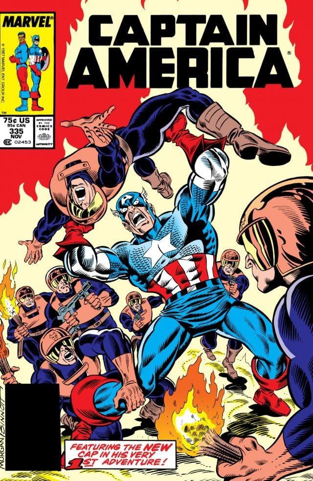 Captain America (1968-1996) #335