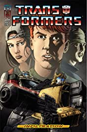 Transformers: Infiltration #4 (of 6)