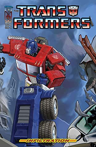Transformers: Infiltration #6 (of 6)