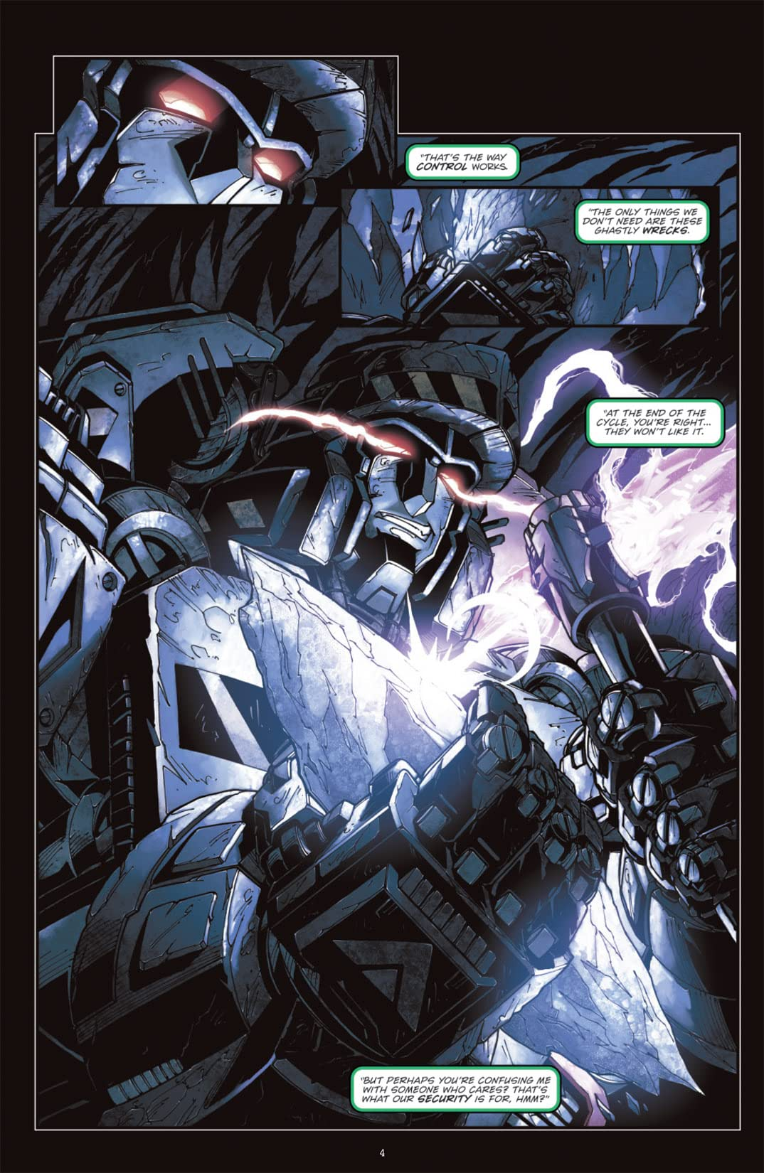 Transformers: Megatron Origin #1 (of 4)