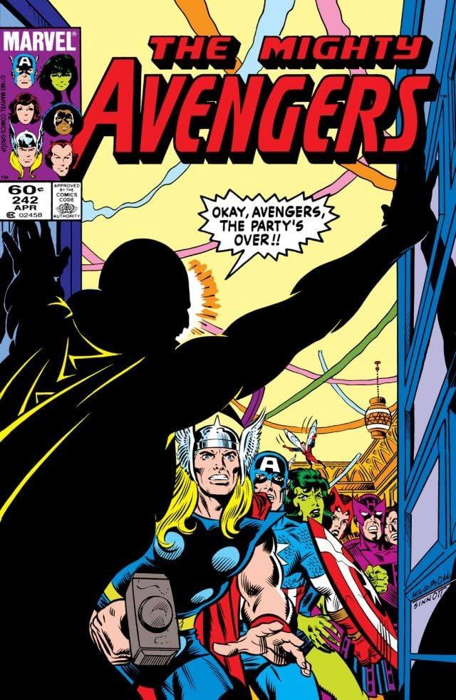 Avengers (1963-1996) #242