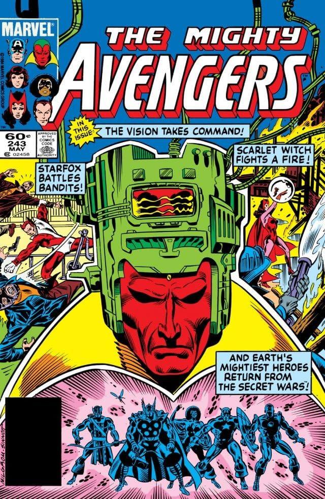 Avengers (1963-1996) #243