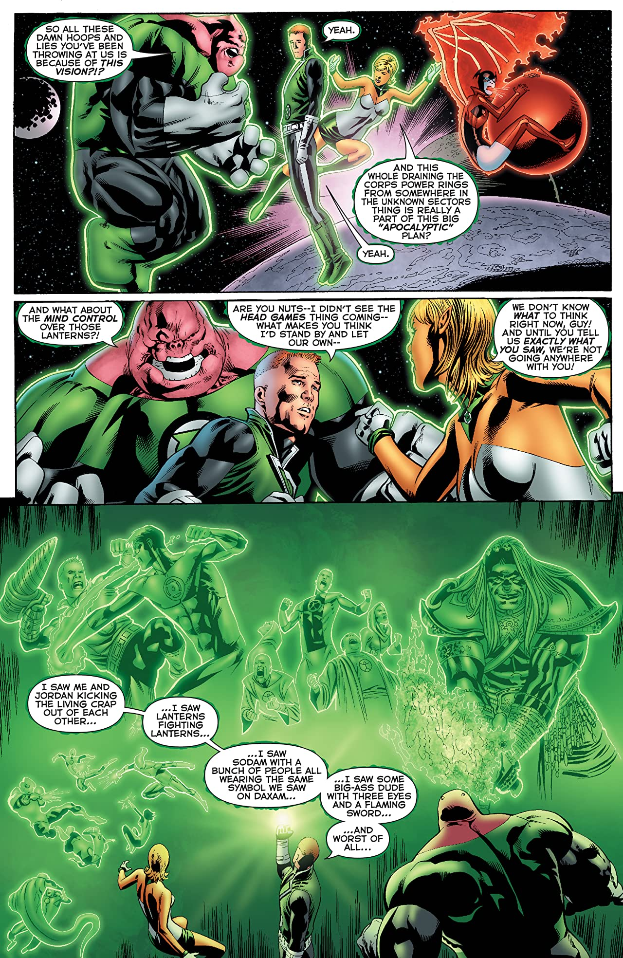 Green Lantern: Emerald Warriors #6