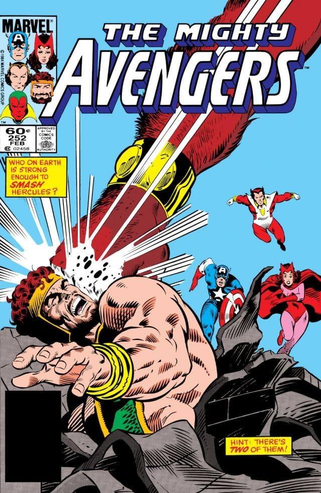 Avengers (1963-1996) #252