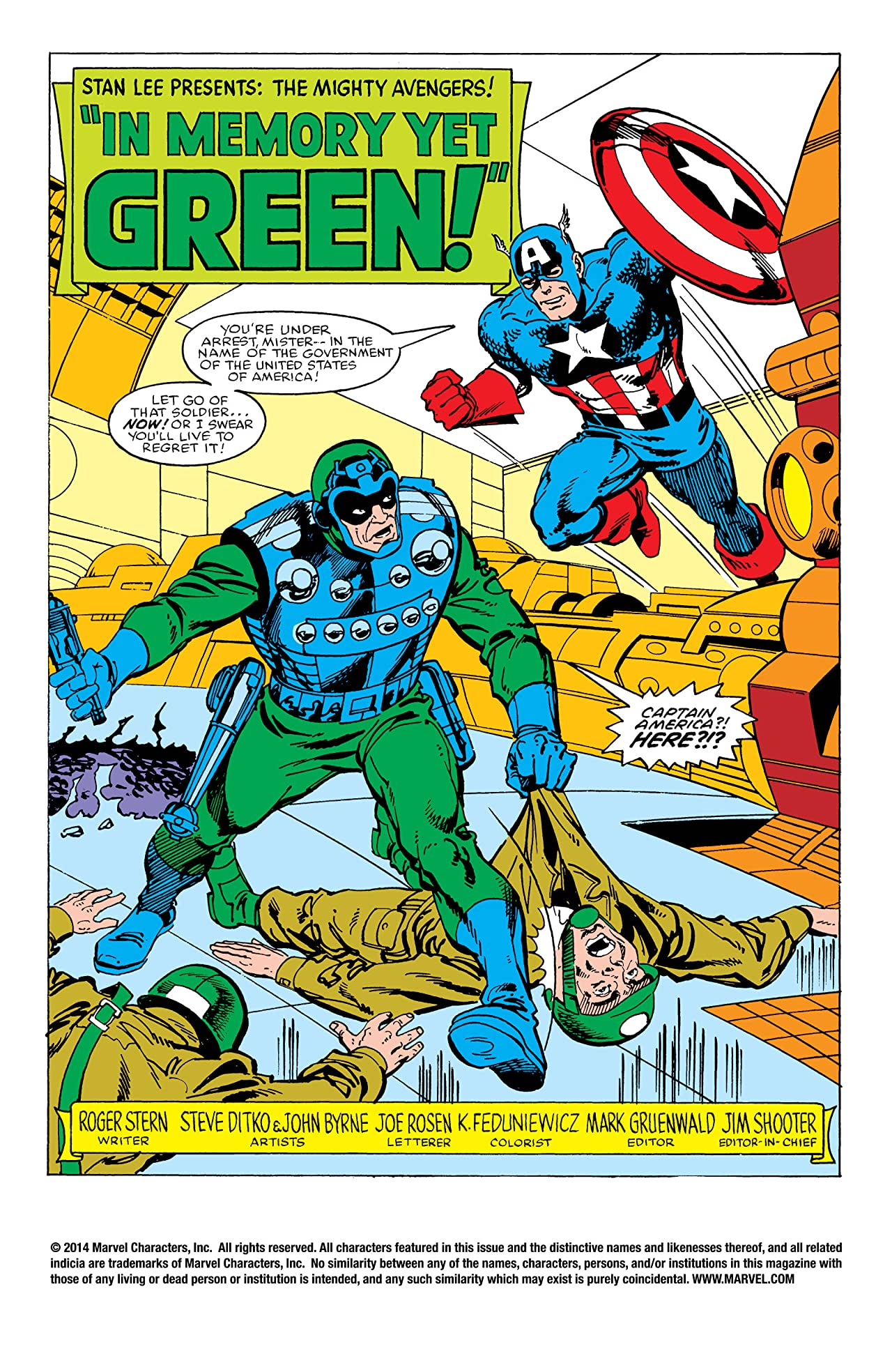 Avengers (1963-1996) Annual #13