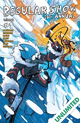 Regular Show Annual 2014